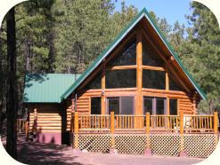rentals in the cabins rental cabin teton arizona greer myrick s