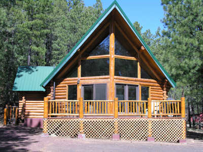 Myrick 39 s cabins the beartooth cabin greer arizona for Cabins to rent in greer az